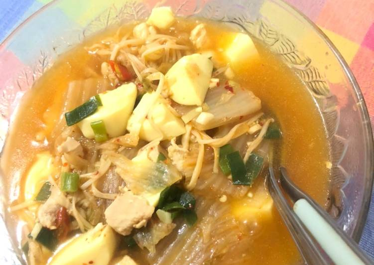 Kimchi jigae sehat
