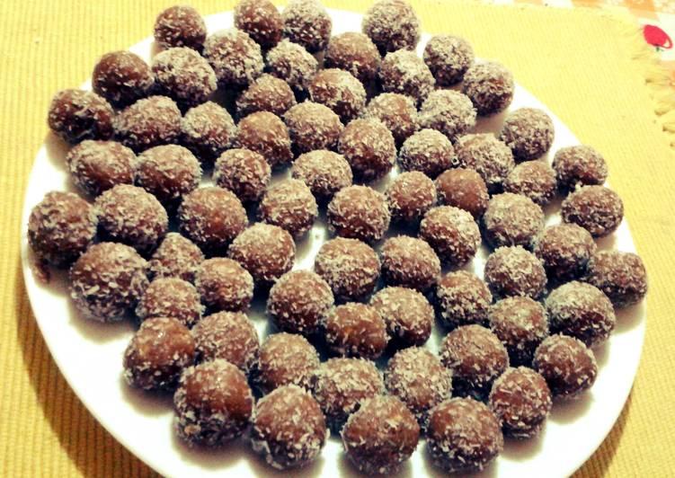 Recipe of Homemade Vanilla and sweetened condensed milk pellets