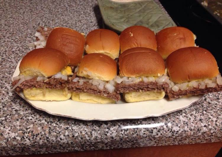 How to Cook Appetizing White Castle Sliders