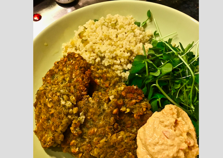 Falafel and Couscous Dinner (Wild Oats inspired)