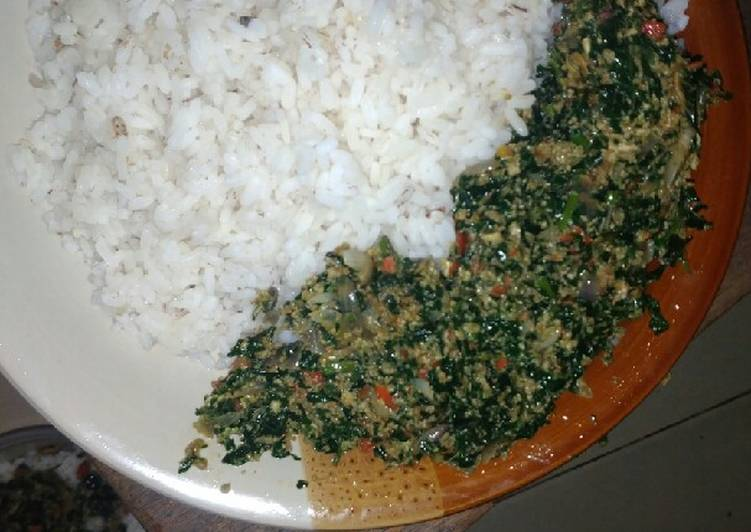 5 Minute Simple Way to Make Quick Vegetable Egg sauce