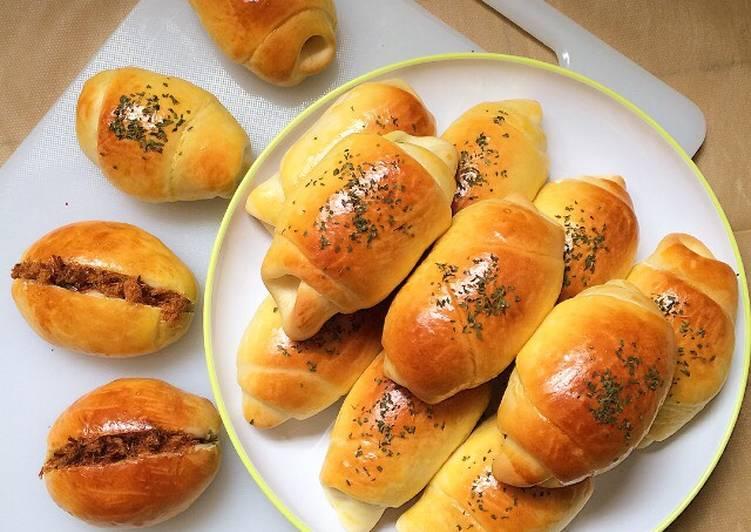Roti Unyil Sosis / Roti Unyil Abon