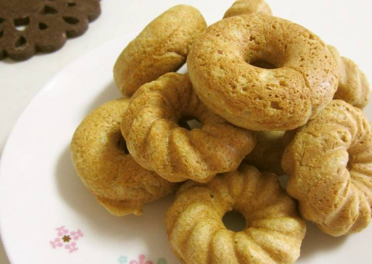 Baked Whole Wheat and Okara Maple Donuts - Laurie G Edwards
