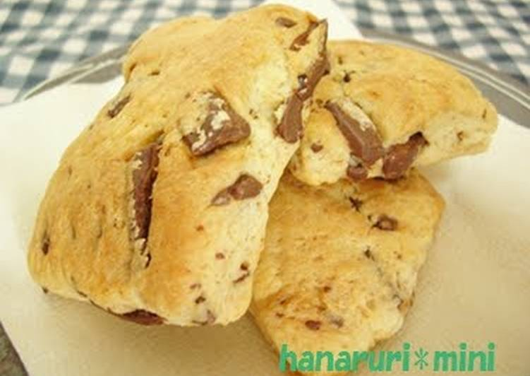 How to Make Ultimate So Easy with Pancake Mix! Chocolate Scones