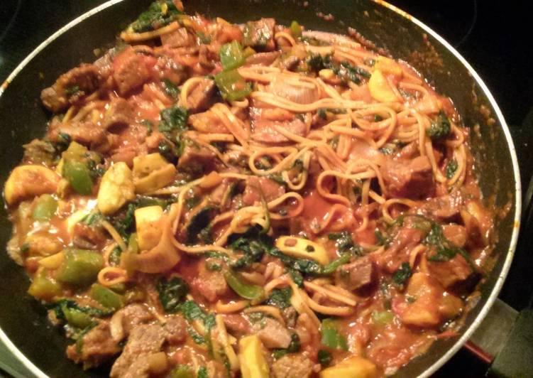 Italian Stir Fry - Laurie G Edwards