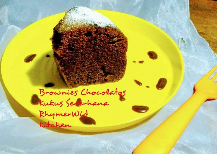 Brownies Chocolatos Kukus Sederhana