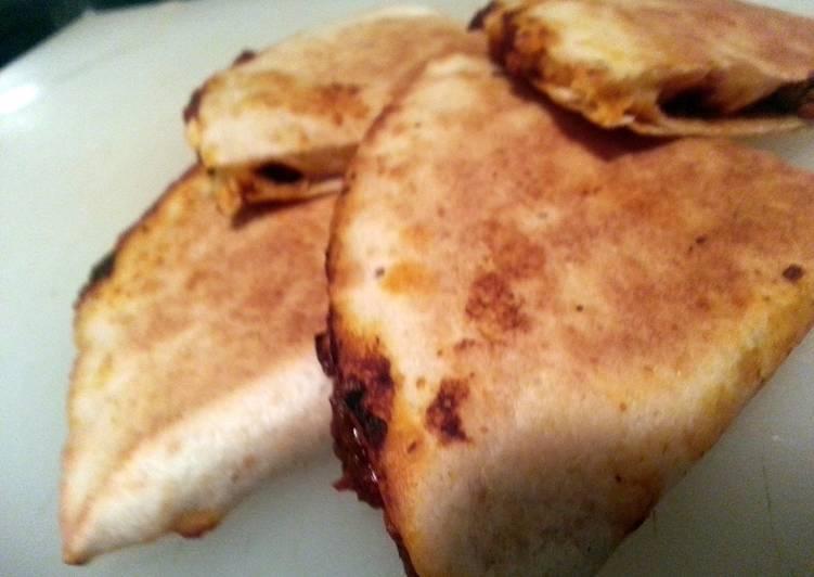 Chorizo & Goat Cheese Quesadillas