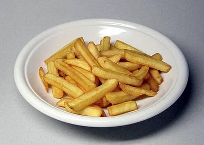 Crunchy fried potato