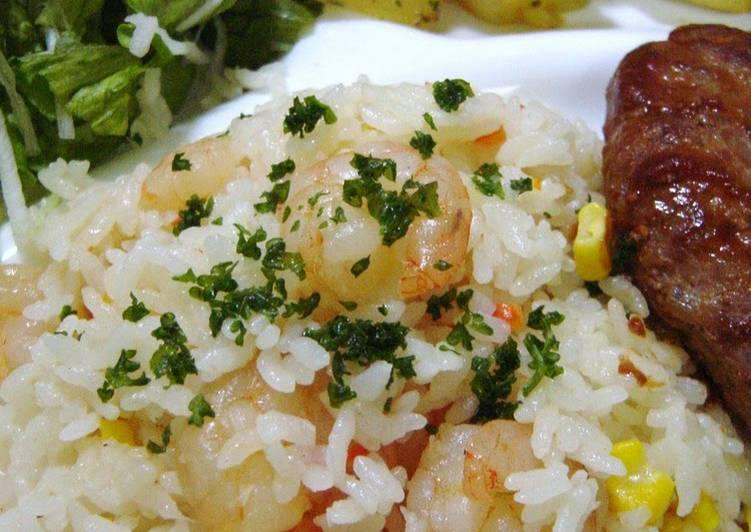 How to Make Yummy Rice Cooker Shrimp Pilaf