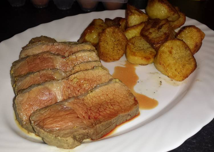 Step-by-Step Guide to Prepare Top-Rated Mustard Roast Beef