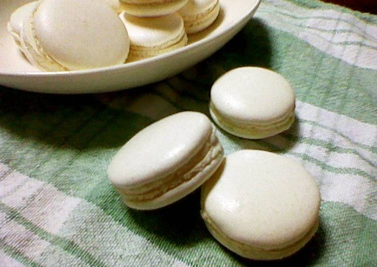 Sugar Lemon Macarons With No Poser
