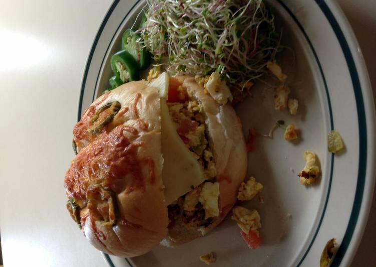 Easiest Way to Make Favorite Jalapeno Breakfast Sandwich