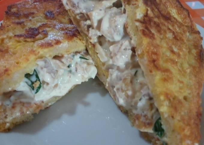 Chicken & Mayo French Toast