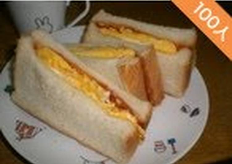 Easiest Way to Make Perfect Kansai-Style Egg Sandwich