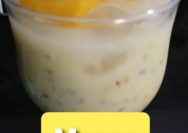 Recipe of Top-Rated Mango Chia Pudding💛😋💛