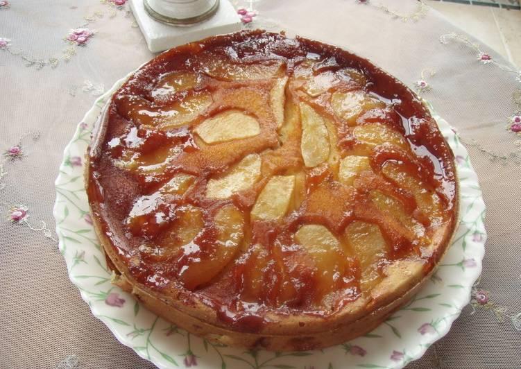 Easiest Way to Prepare Ultimate Caramel Apple Cake