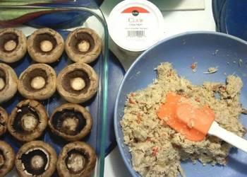 Easiest Way to Make Yummy Becks Crab Stuffed Mushrooms