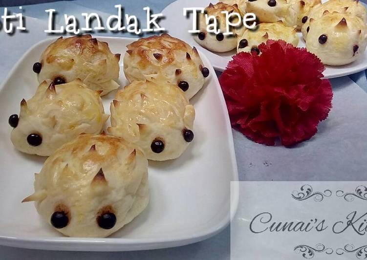 Resep Roti Landak Tape Singkong Oleh Tri Sundari Cookpad