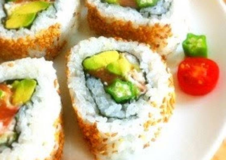 California Roll to try on the Night of Tanabata