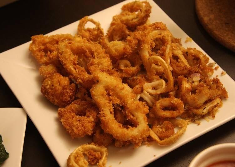 Deep fried calamari!