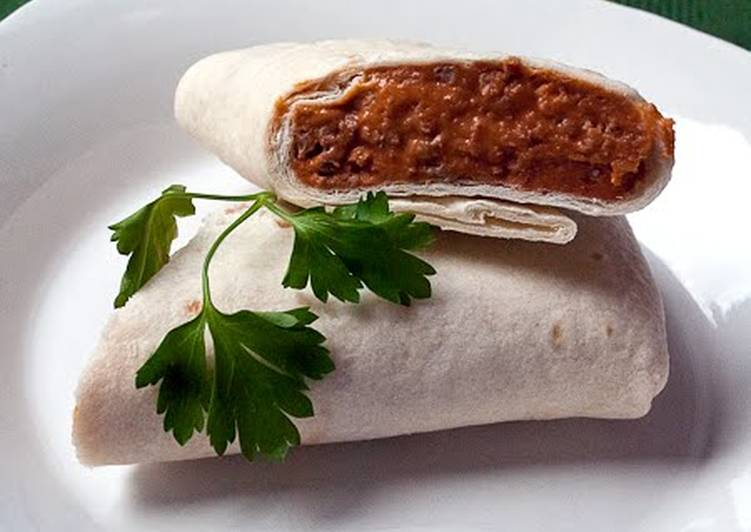Recipe: Tasty Easy Bean Burritos