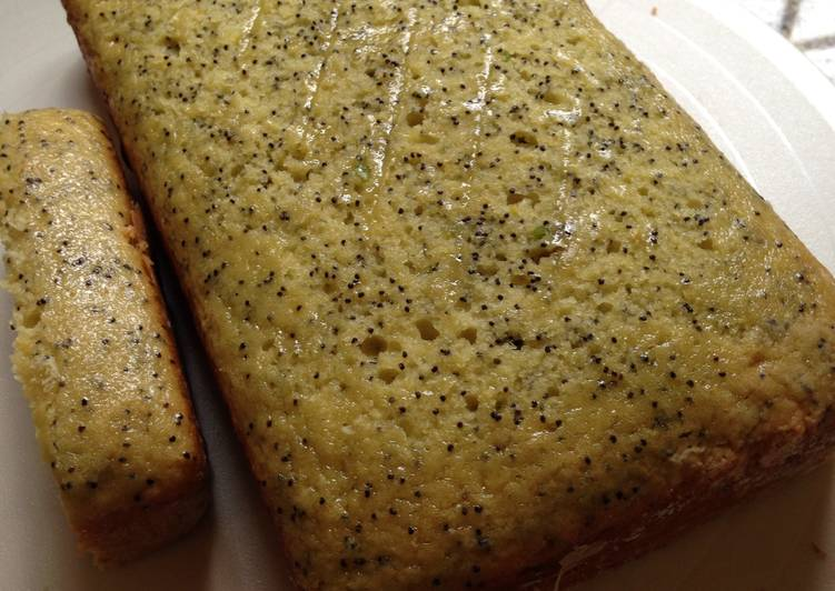 Simple Way to Prepare Favorite Two Lemon Poppy Loaves For You