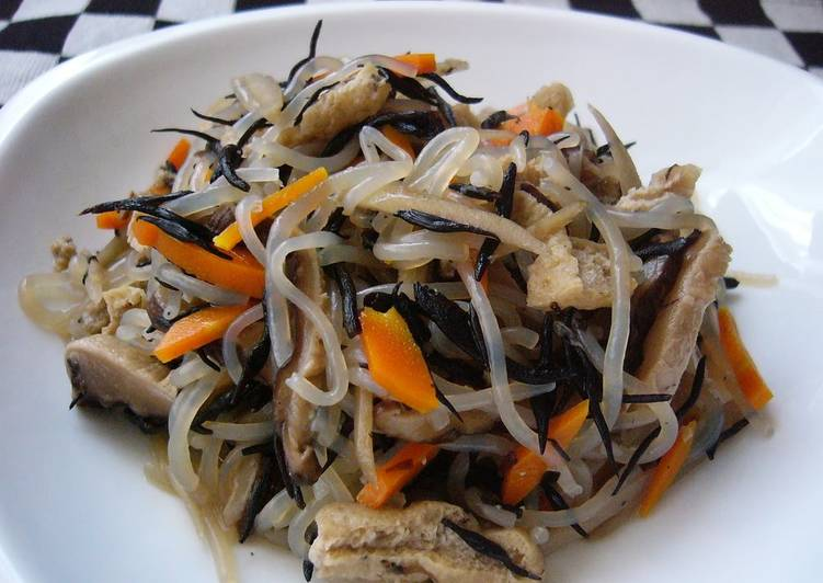 Stir-fried Shirataki