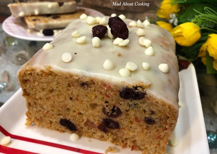 Easiest Way to Prepare Award-winning Whole Wheat Carrot Cranberry Cooker Cake – No Oven Cake Recipe