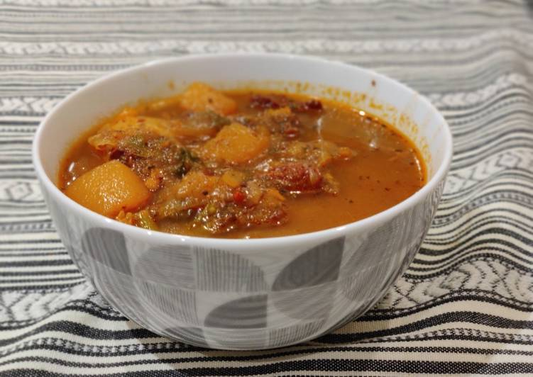 Step-by-Step Guide to Prepare Any-night-of-the-week Close Enough to Zita's Goulash