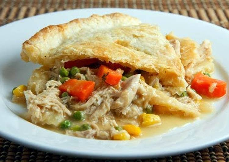 Steps to Prepare Perfect Easy Chicken Pot Pie