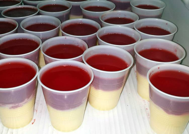 Jello and flan (Peru) - Laurie G Edwards