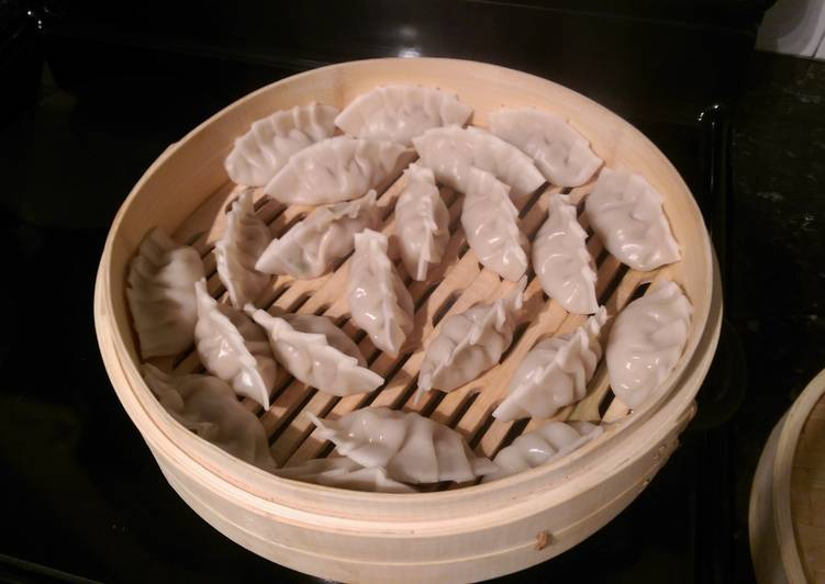 Recipe: Tasty Clam, Shrimp, and Chicken Chinese Dumplings