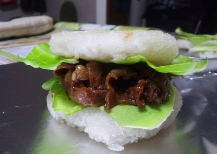 MosBurger-Style Rice Burger