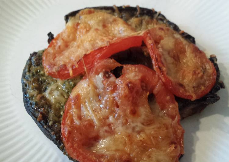 Portobello mushroom pizza, A Lot Of You Might Not Understand This But Coconut Oil Can Have Great Health Advantages To It