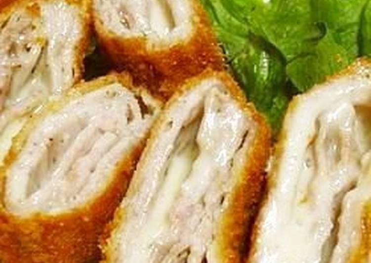 20 Minute Dinner Ideas Refreshing Crispy Pork Loin & Cheese Cutlets