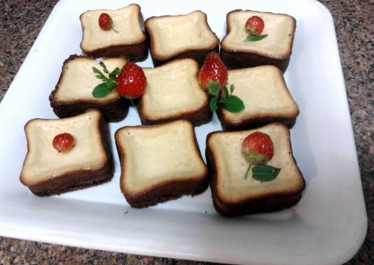 Ladybirds Mini Baked Cheese Cakes