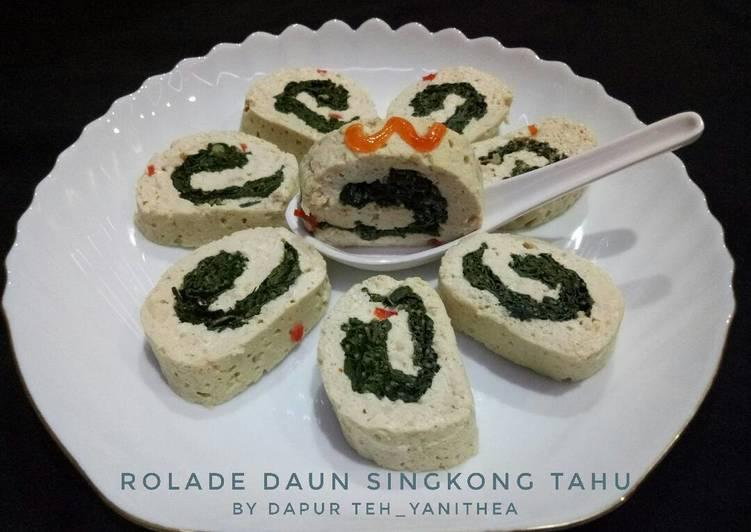 Rolade Daun Singkong Tahu