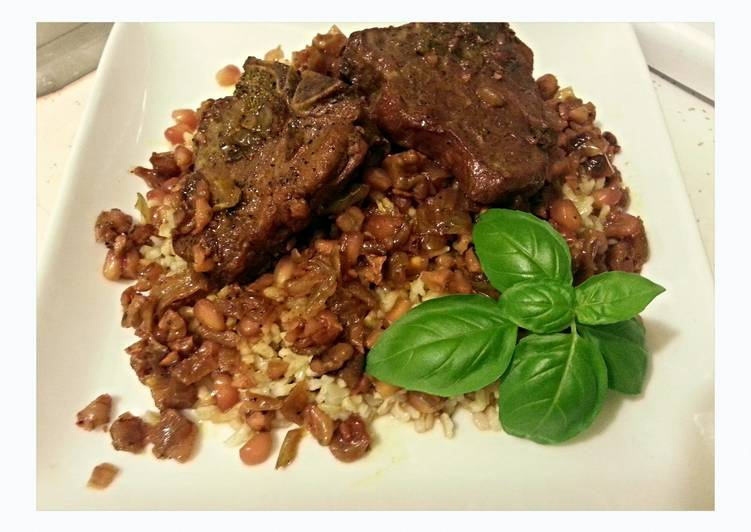 Lamb Fesenjan- Lamb with Pomegranate Walnut Sauce