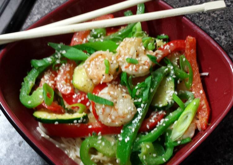 Step-by-Step Guide to Make Ultimate Lemongrass & Ginger Shrimp Stirfry