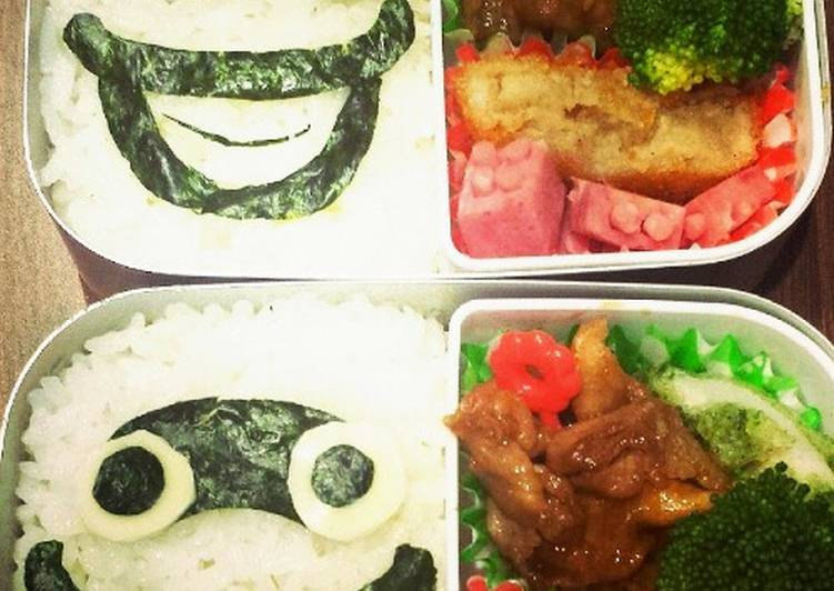 Picking The Right Foods Can Help You Stay Fit As Well As Healthy Youkai Watch Easy Whisper Character Bento