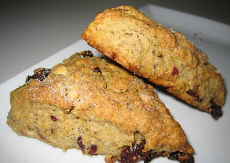Steps to Make Ultimate Cranberry & Orange Scones