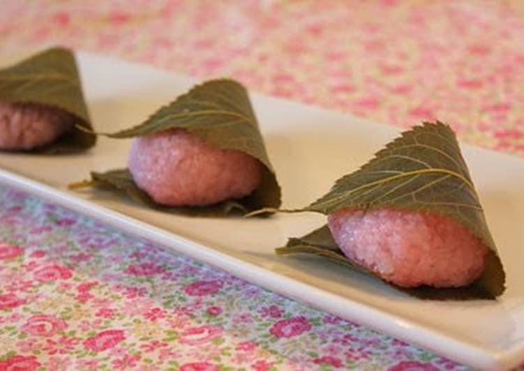 Easiest Way to Make Speedy Easy Sakura Mochi (Domyoji) Using A Microwave Steaming Container