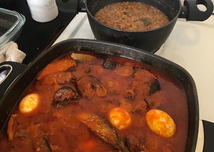 What is Dinner Ideas Diet Perfect Beans and fish pepper stew