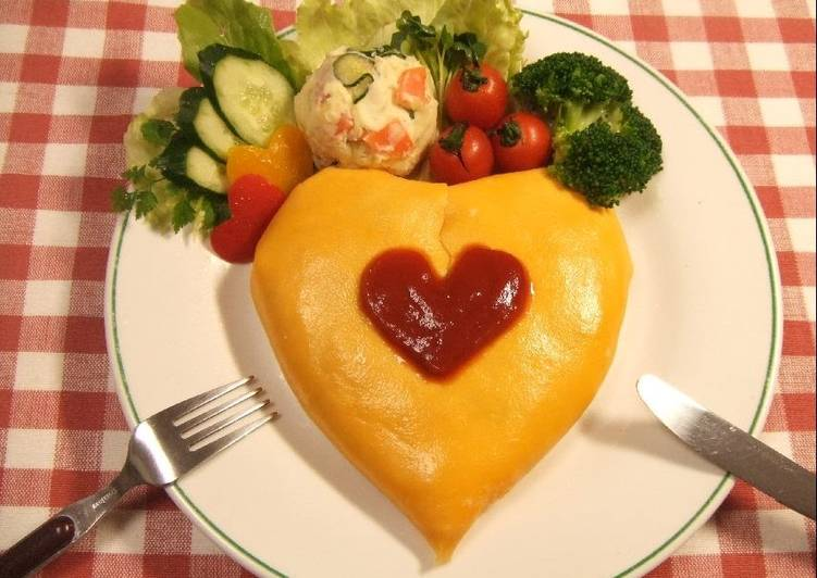 Easy Heart-Shaped Rice Omelette Made In A Rice Cooker, Choosing Fast Food That's Very good For You