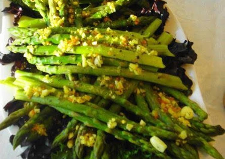 Easiest Way to Cook Delicious Asparagus With Garlic