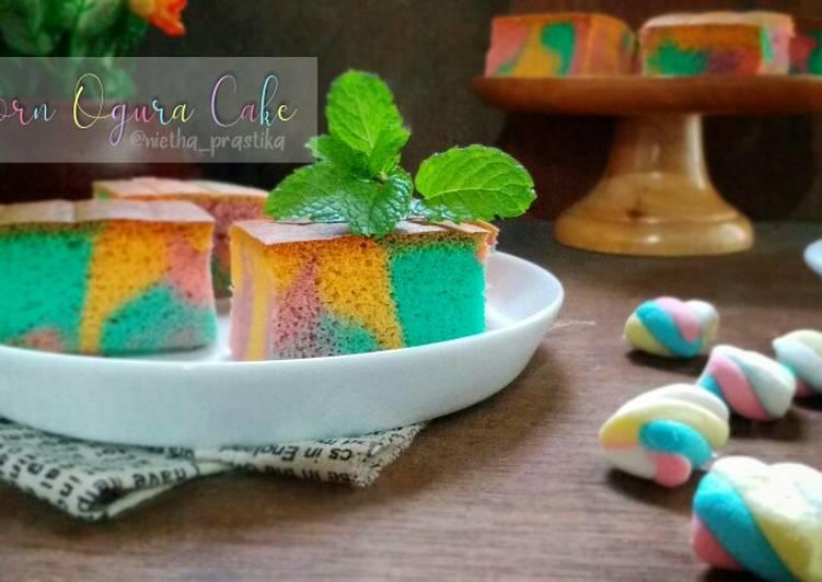 Unicorn Ogura Cake