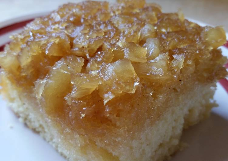 Iron Skillet Pineapple Upside-down Cake