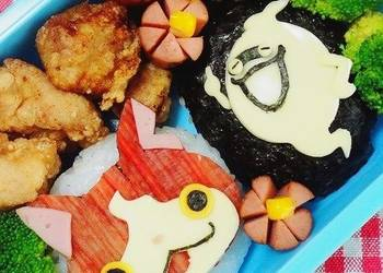 How to Make Delicious YokaiWatch Character Bento