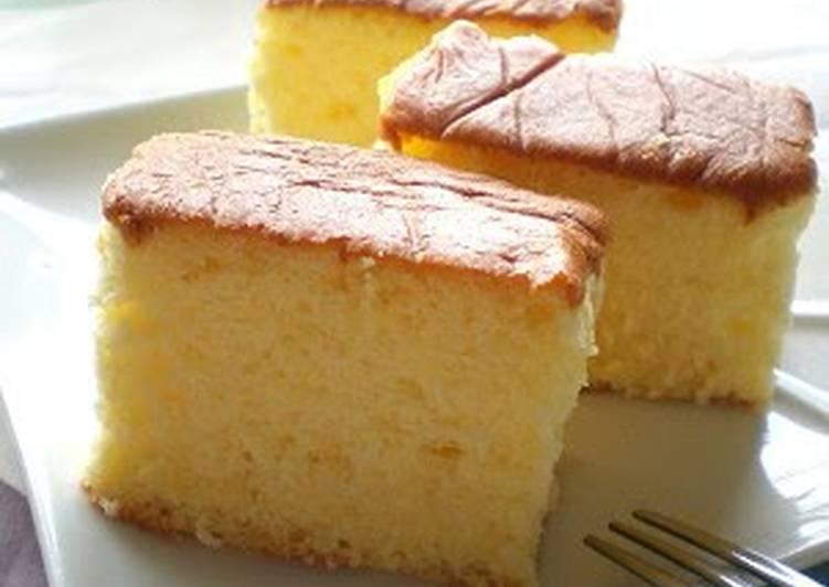 Easiest Way to Make Speedy Honey Castella