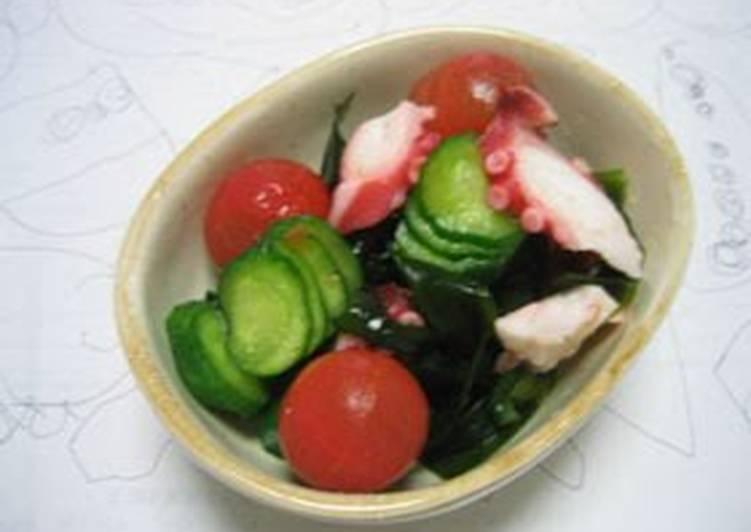 Vinegar Dish with Cherry Tomatoes